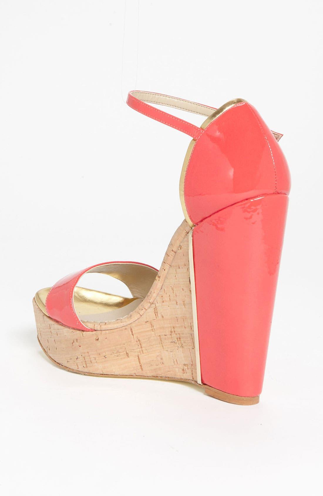 Alternate Image 2  - Stella McCartney Open Toe Wedge Sandal