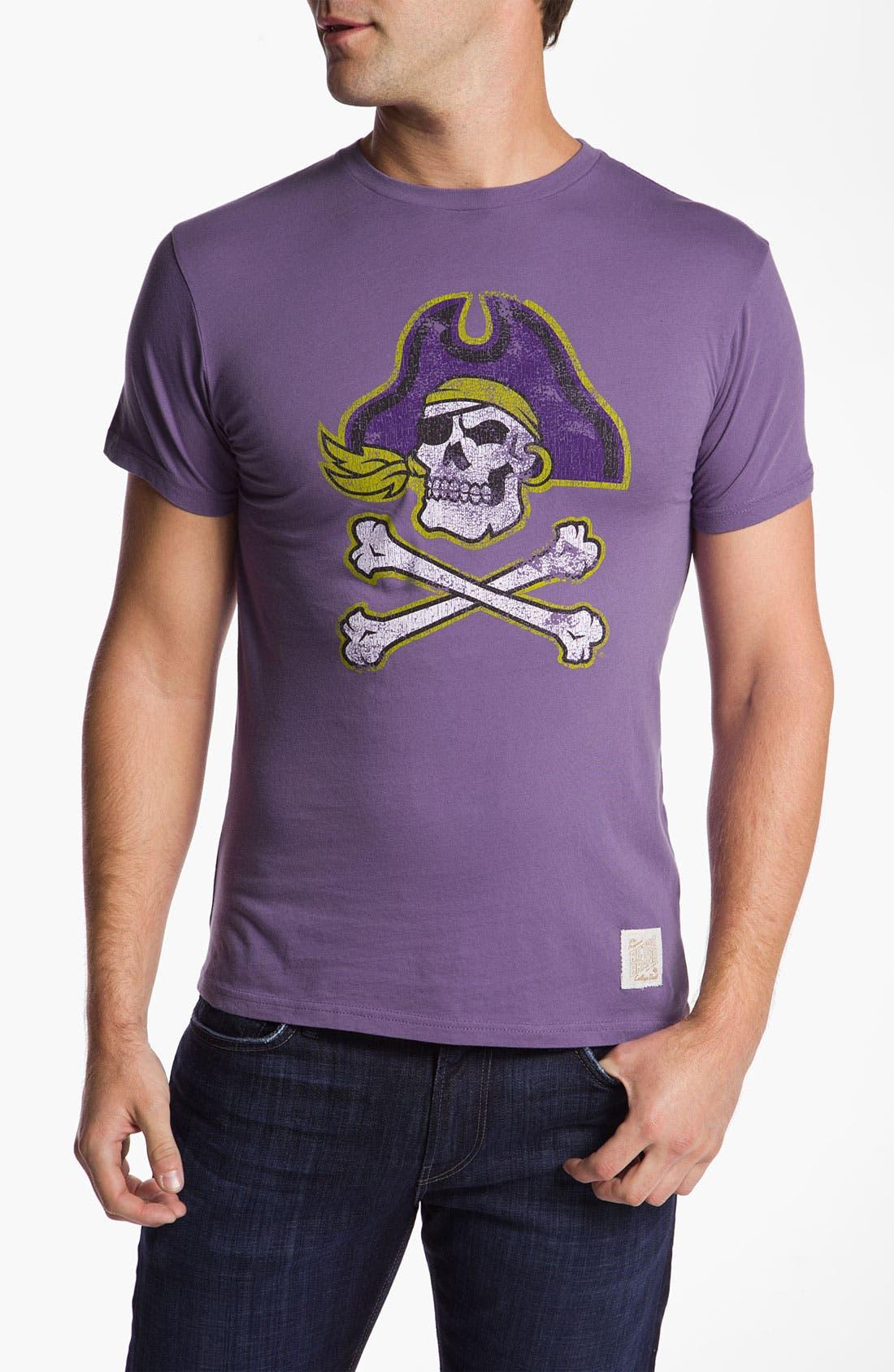 Alternate Image 1 Selected - The Original Retro Brand 'East Carolina College' T-Shirt