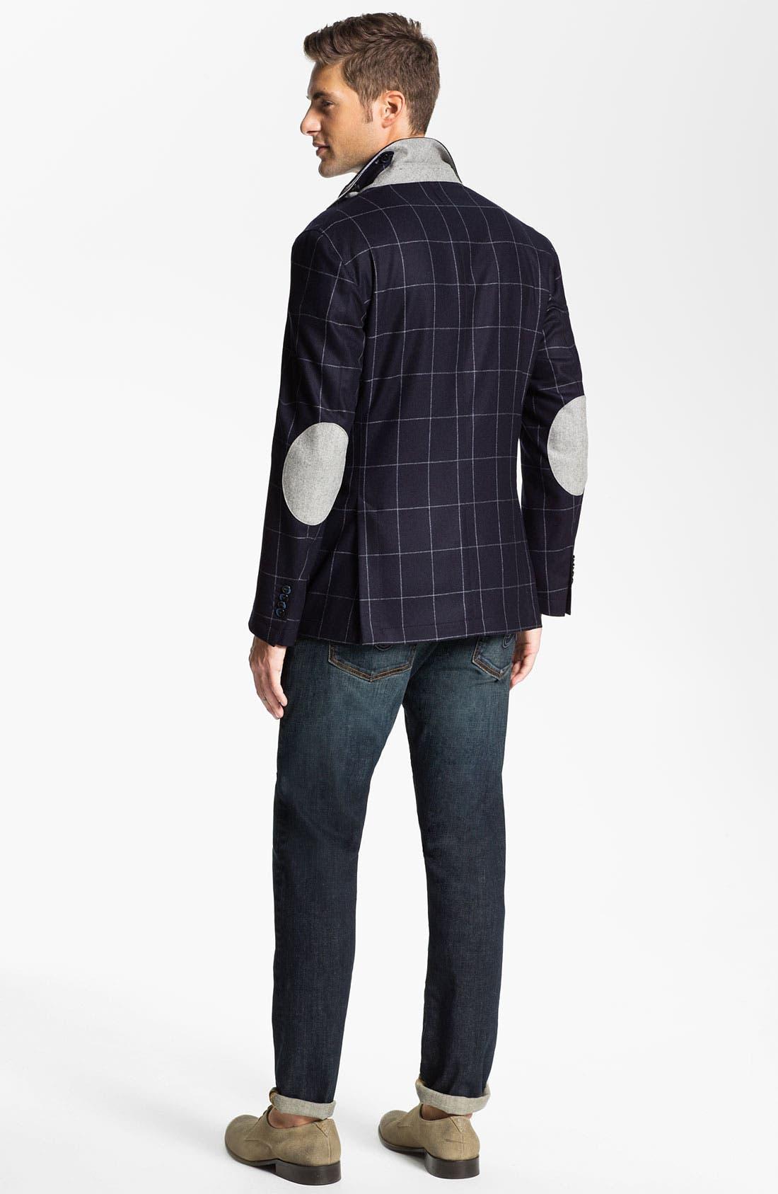 Alternate Image 5  - Franco Danti V-Neck Wool Sweater Vest