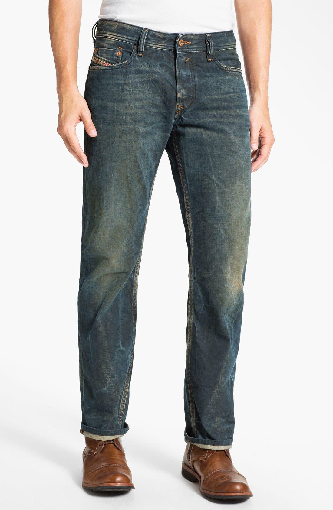 Alternate Image 2  - DIESEL® 'Waykee' Straight Leg Jeans (0808H)