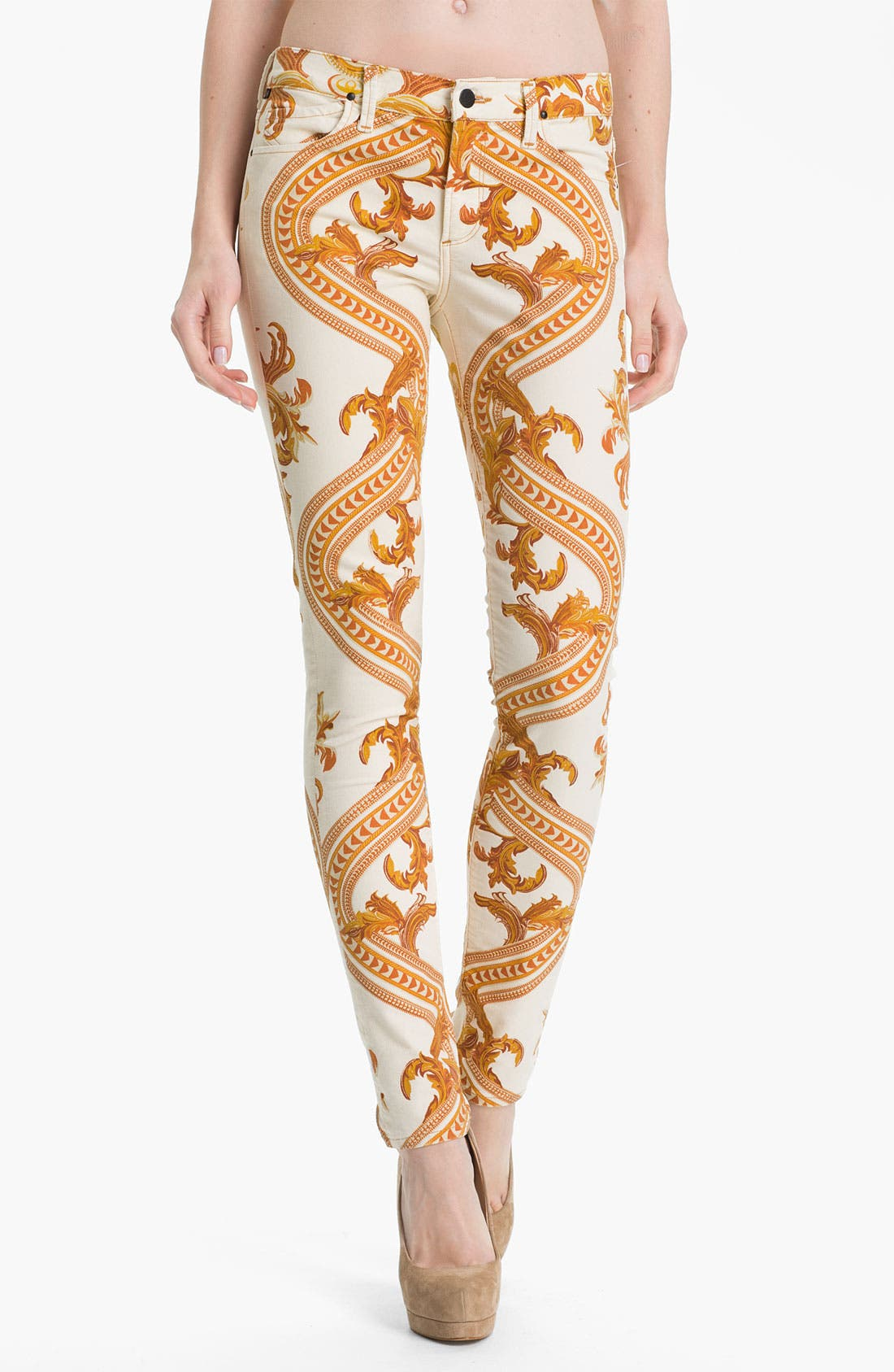 Alternate Image 1 Selected - Citizens of Humanity Skinny Jeans (Rococo Gold)