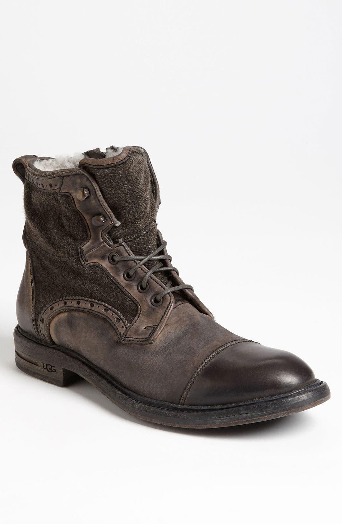 Alternate Image 1 Selected - UGG® Collection 'Malden' Cap Toe Boot (Men)