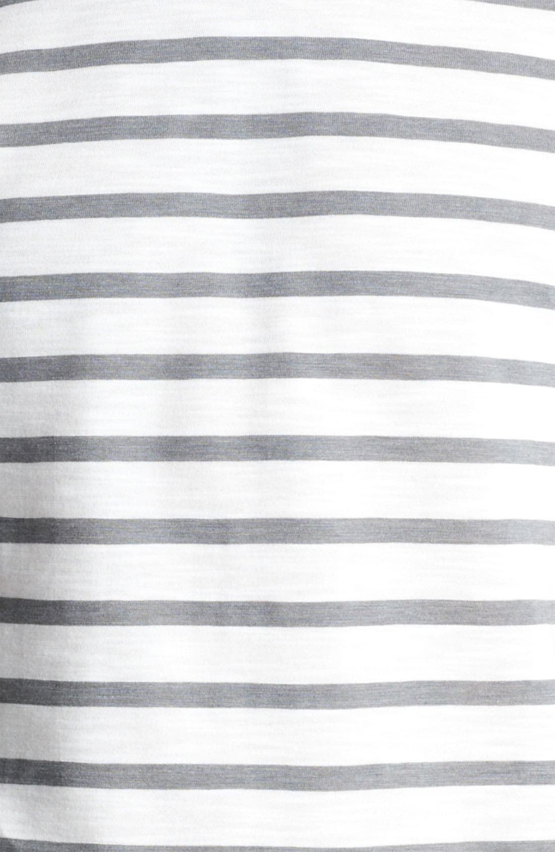 Alternate Image 3  - Topman Slub Stripe T-Shirt