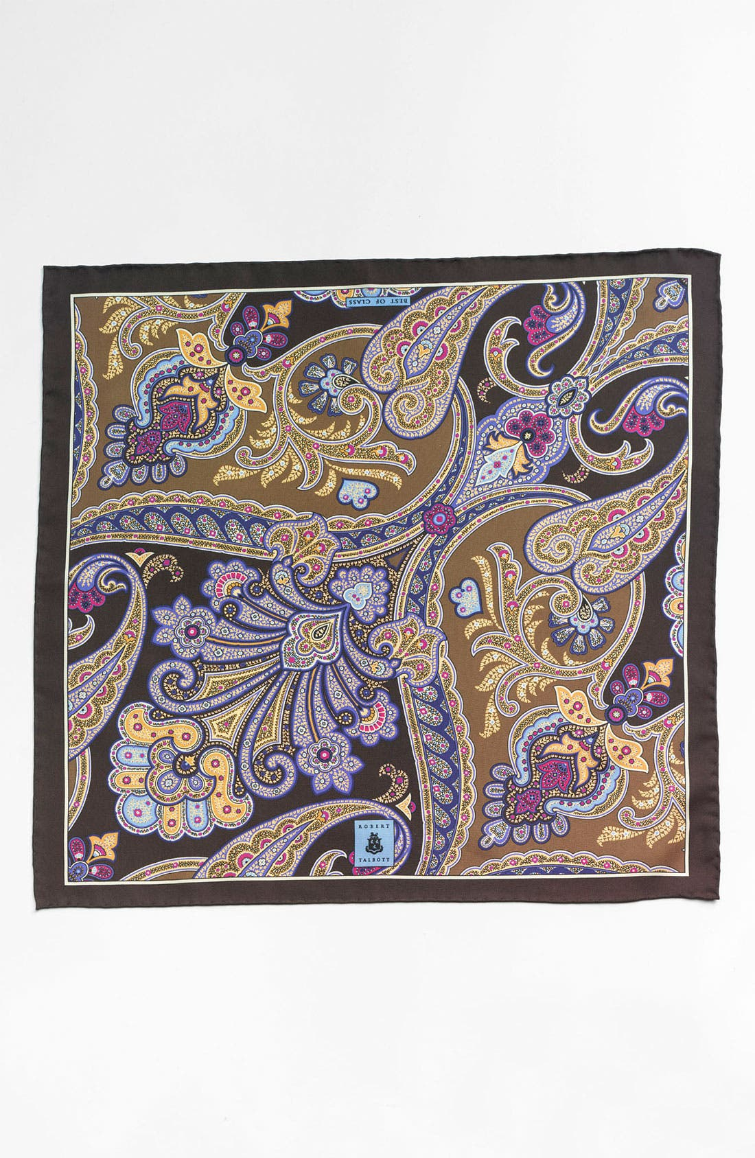 Alternate Image 2  - Robert Talbott Paisley Pocket Square