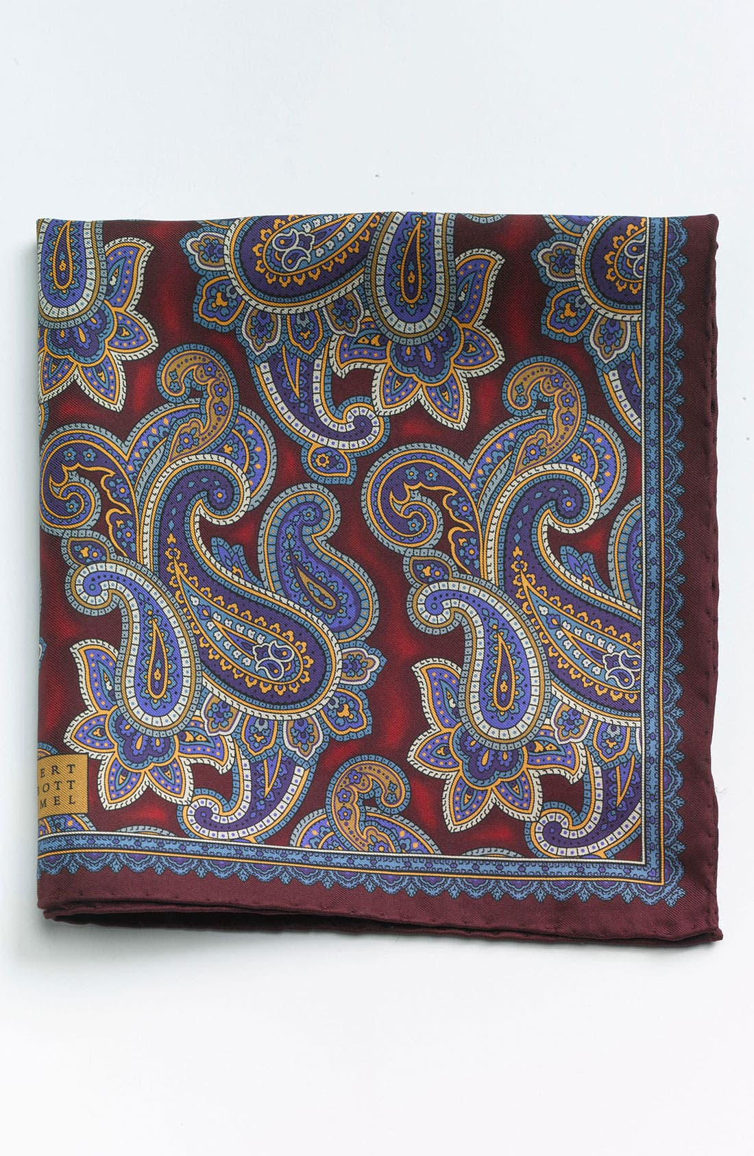 Main Image - Robert Talbott Paisley Pocket Square