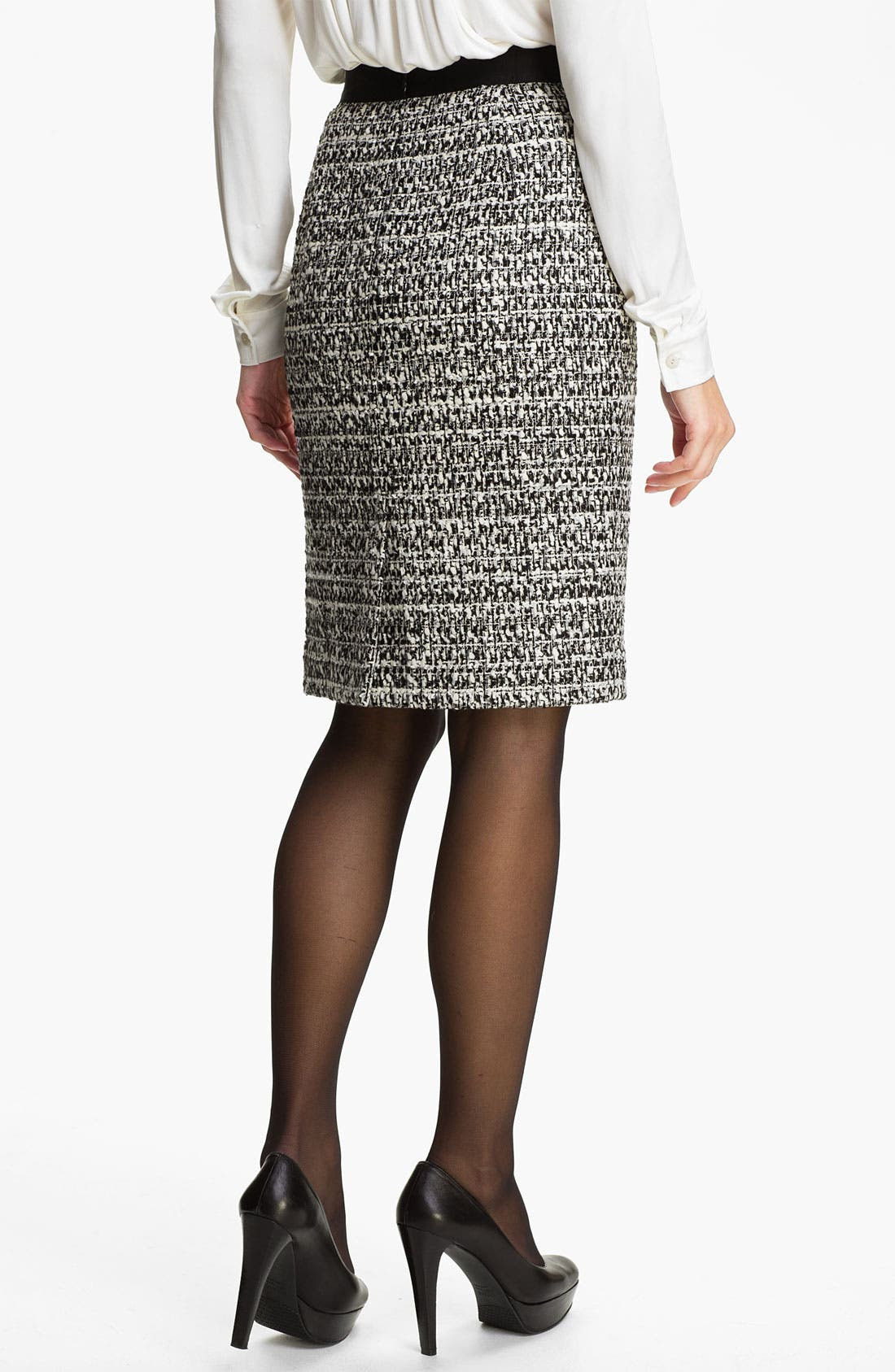 Alternate Image 2  - Classiques Entier® 'Roma' Tweed Skirt