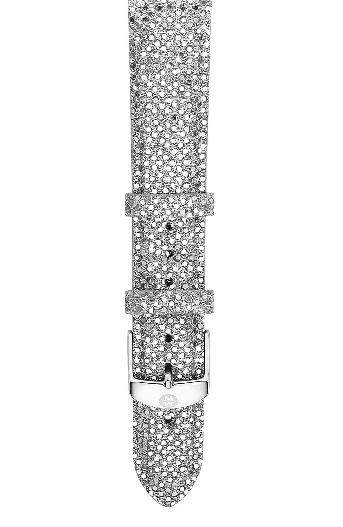 Main Image - MICHELE 'Deco 16 Diamond' Customizable Watch