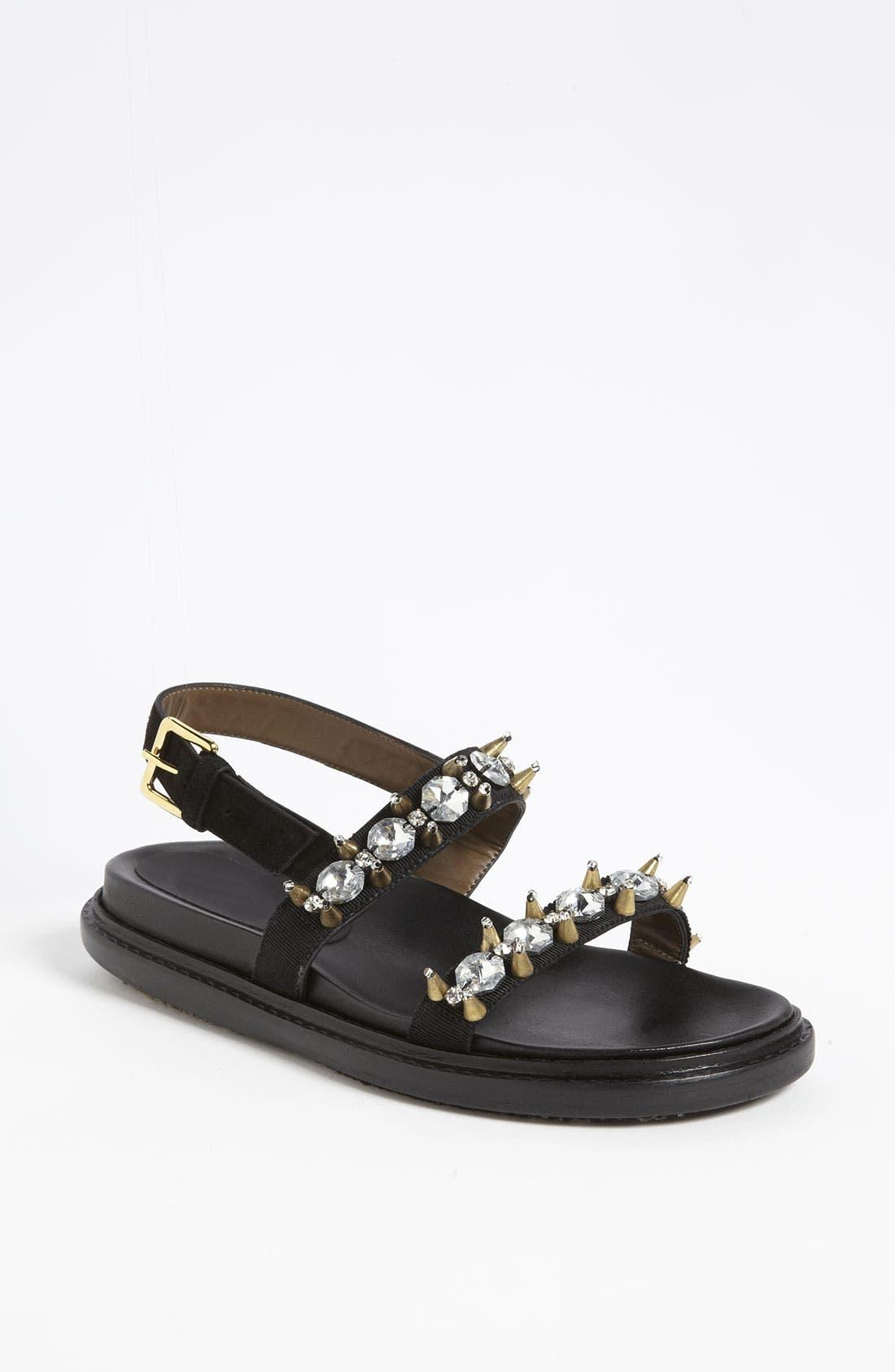 Alternate Image 1 Selected - Marni Crystal Sandal