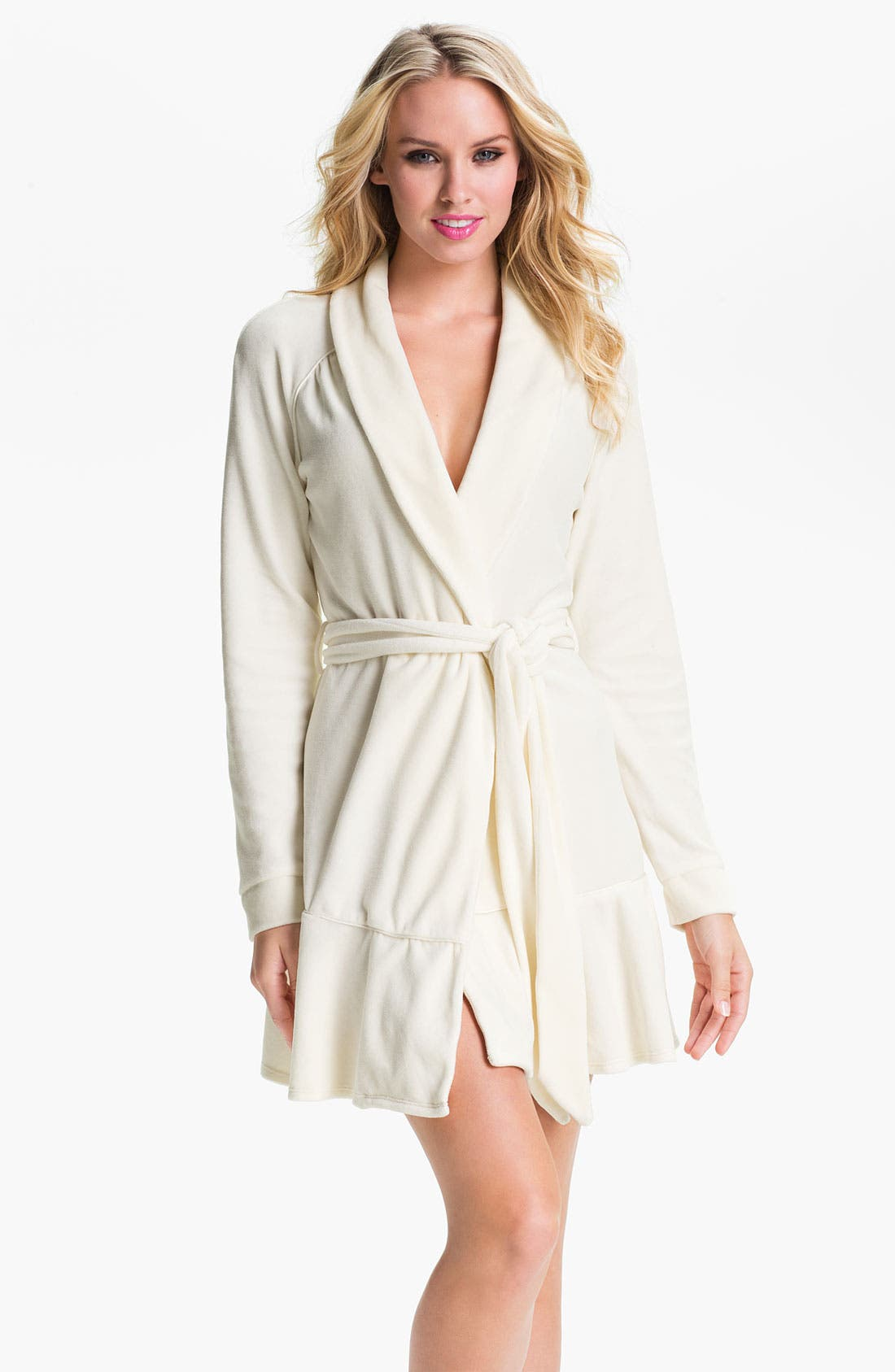 Alternate Image 1 Selected - Juicy Couture Short Velour Robe