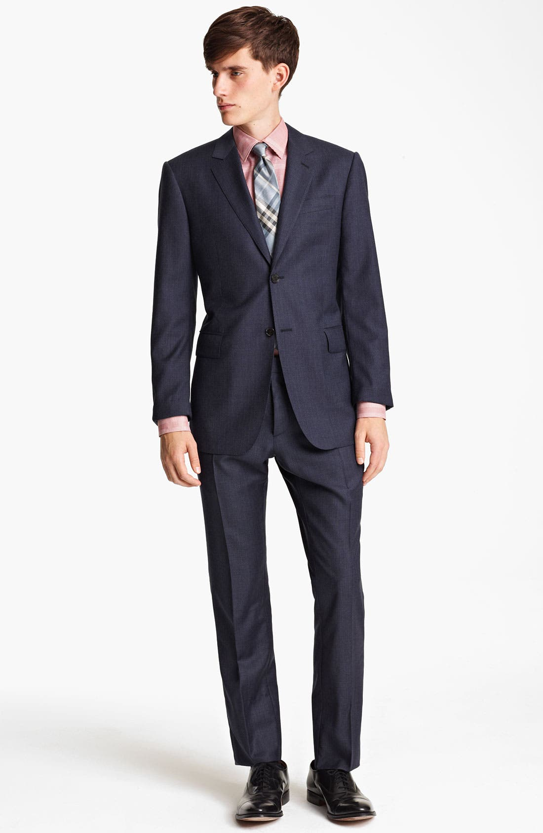 Alternate Image 2  - Burberry London Extra Trim Fit Wool Suit