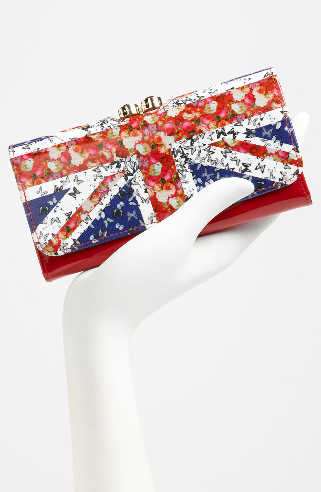Alternate Image 2  - Ted Baker London 'Union Jack - Crystal Bobble' Matinee Wallet