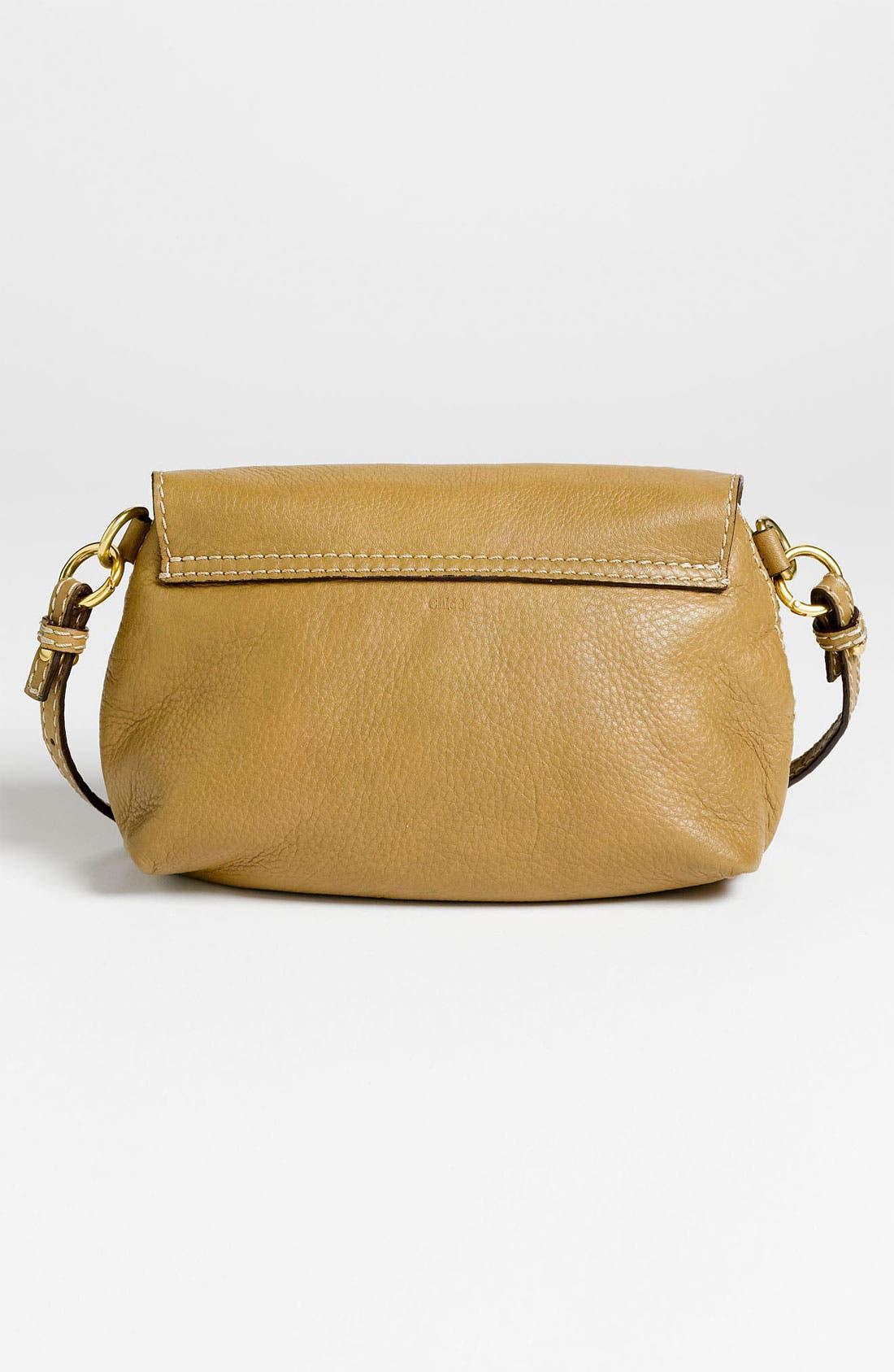 Alternate Image 4  - Chloé 'Marcie' Calfskin Leather Crossbody Bag