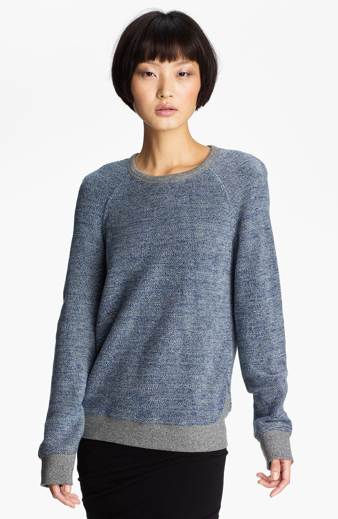 Alternate Image 1 Selected - T by Alexander Wang French Terry Sweatshirt