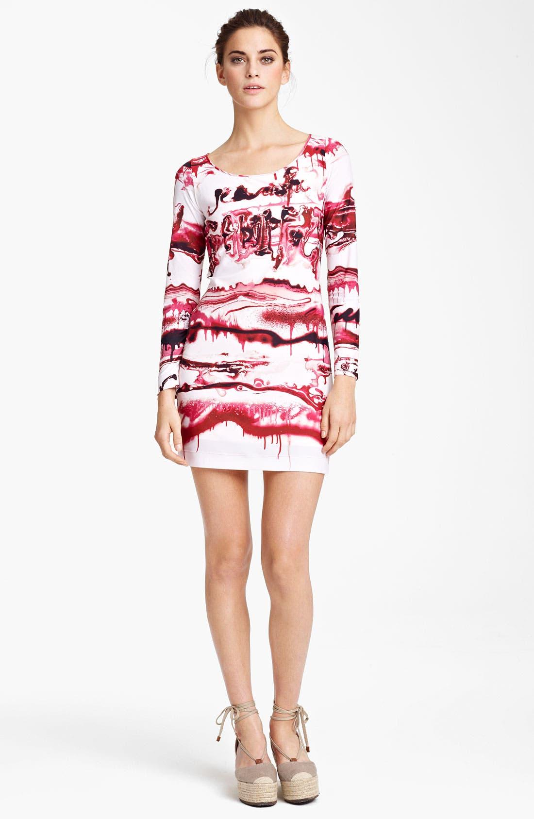 Alternate Image 1 Selected - Jean Paul Gaultier Fuzzi Graffiti Print Dress