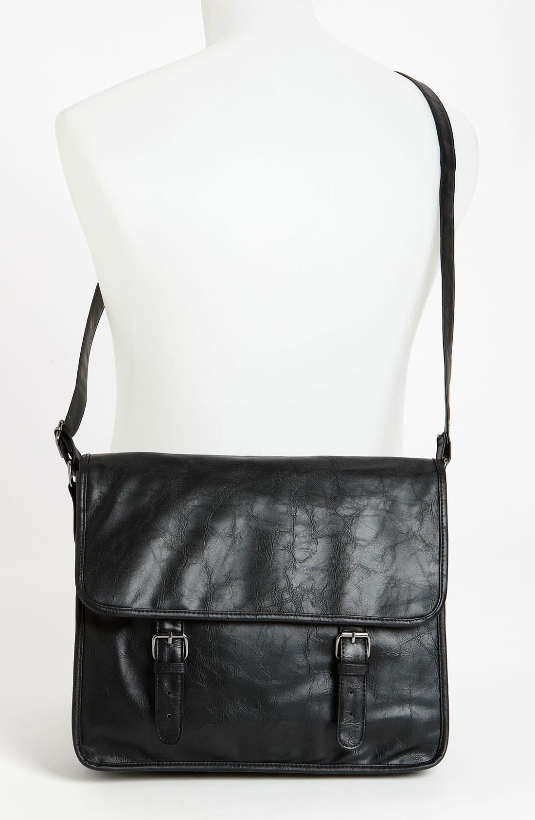 Alternate Image 4  - Topman Messenger Bag