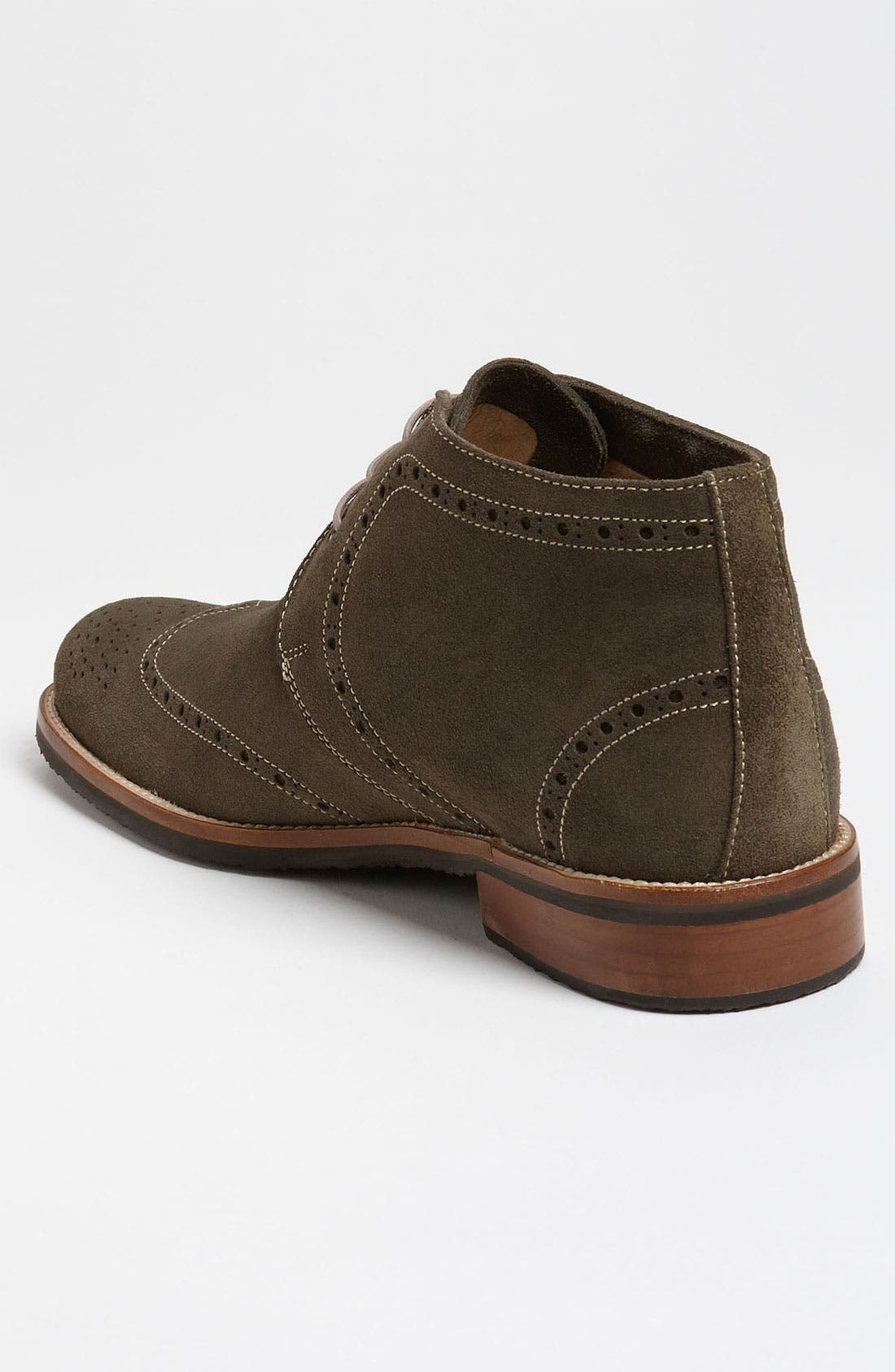 Alternate Image 2  - Thomas Dean Suede Wingtip Chukka Boot (Online Only)