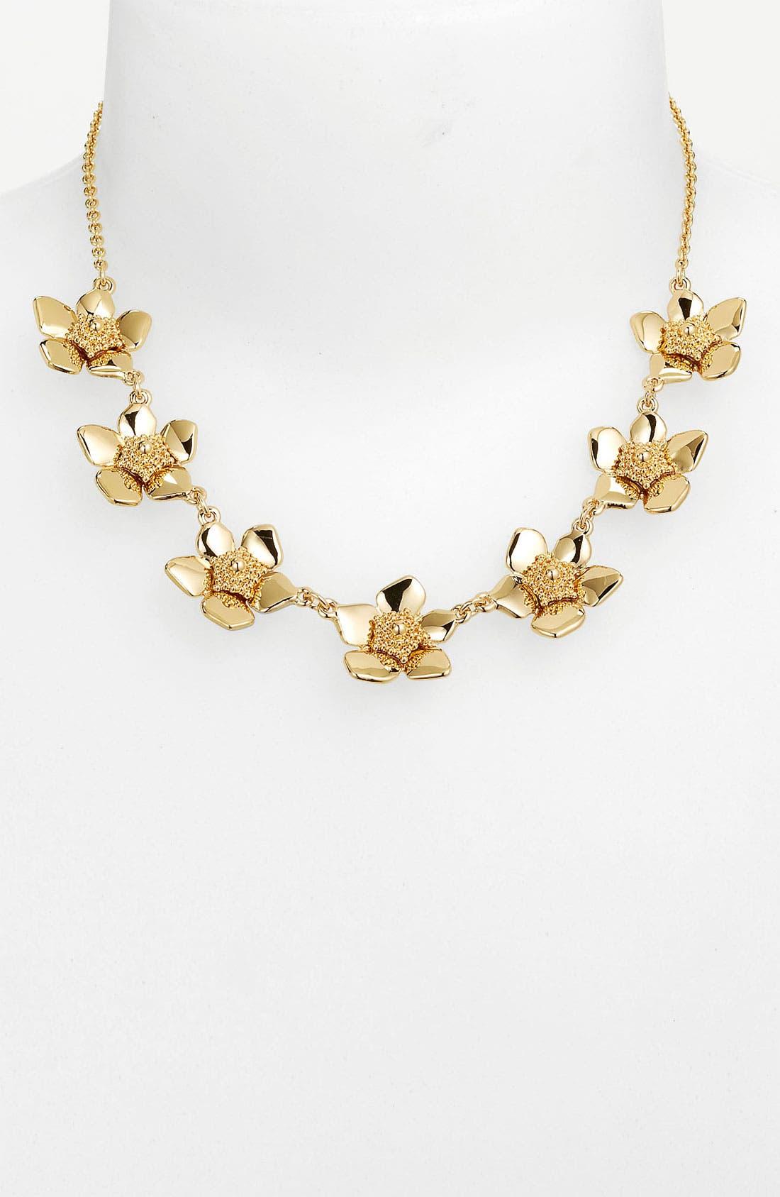 Main Image - kate spade new york 'bloomspot' collar necklace