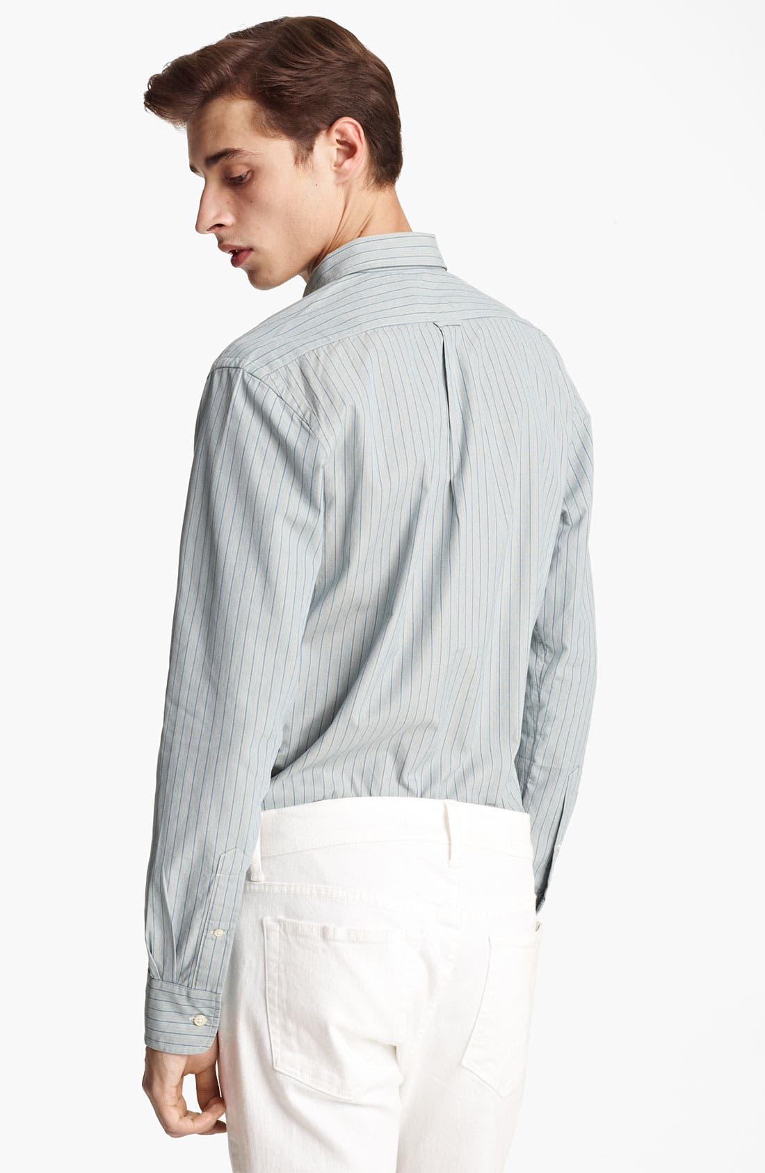 Alternate Image 3  - Grayers Trim Fit Sport Shirt