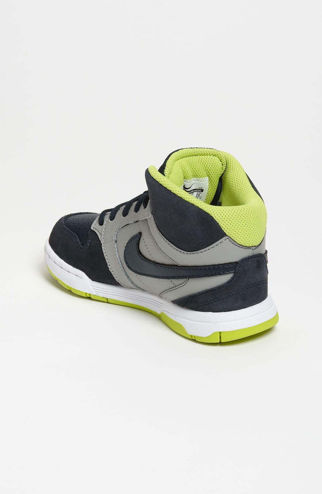 Alternate Image 2  - Nike 'Mogan Mid 3' Sneaker (Toddler, Little Kid & Big Kid)
