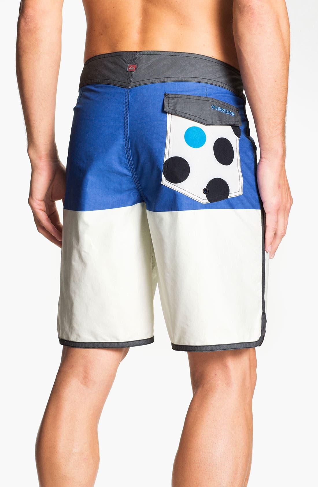 Alternate Image 2  - Quiksilver 'Half and Half' Board Shorts