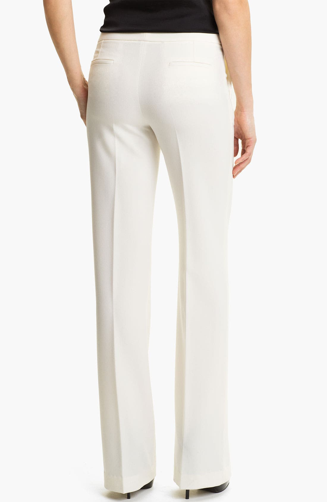 Alternate Image 2  - Vince Camuto Wide Leg Crepe Pants