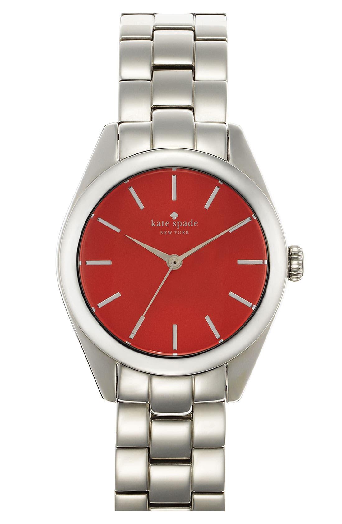 Alternate Image 1 Selected - kate spade new york 'seaport' bracelet watch
