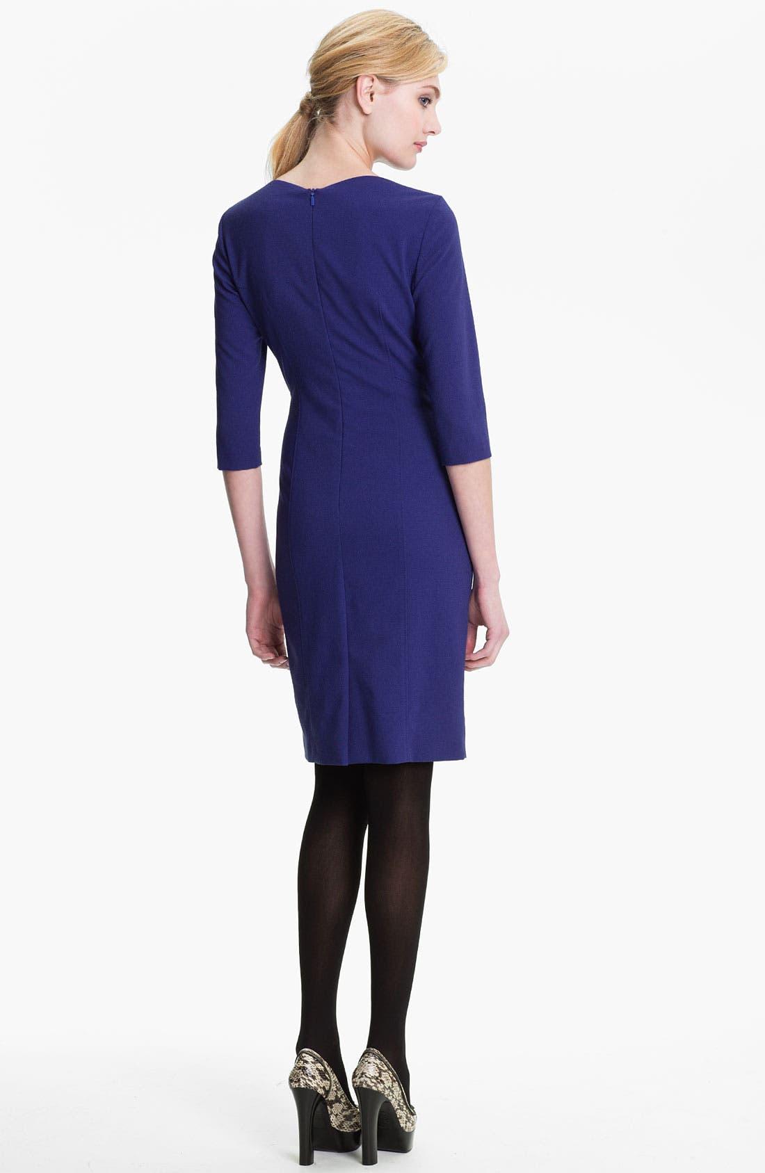 Alternate Image 2  - BOSS Black 'Daslana' Sheath Dress