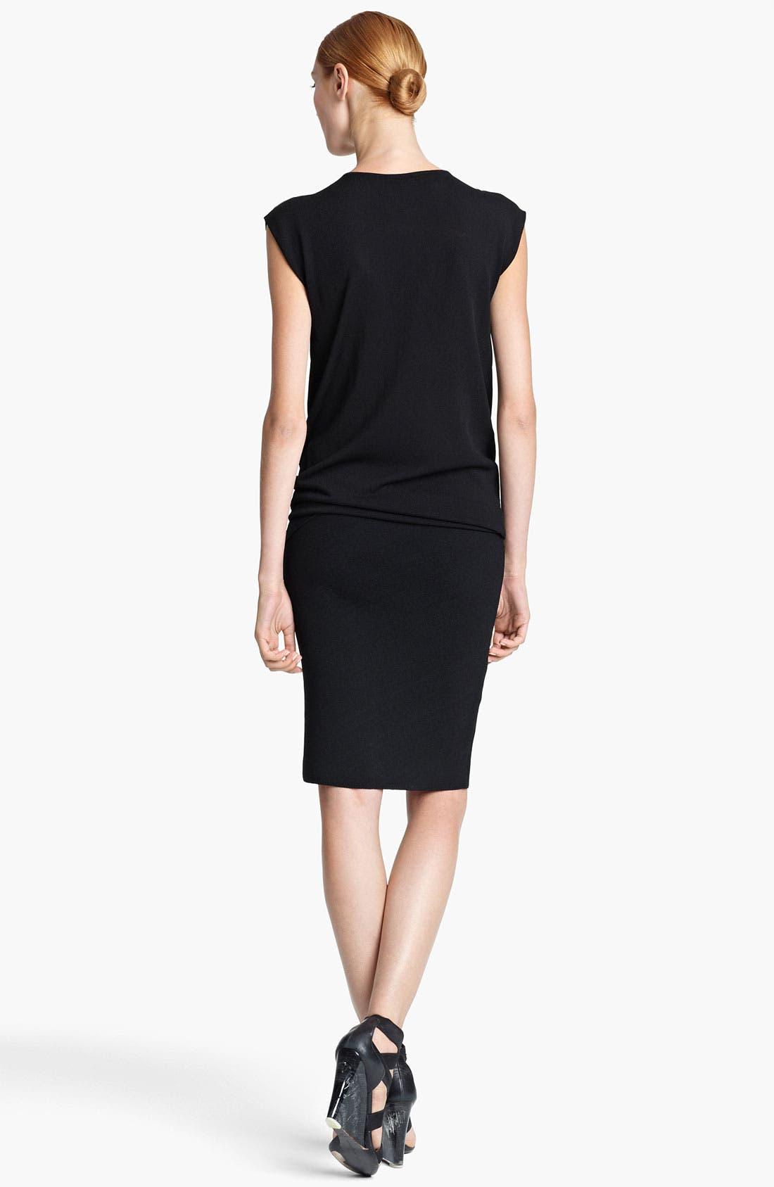 Alternate Image 2  - Donna Karan Collection Draped Jersey Dress