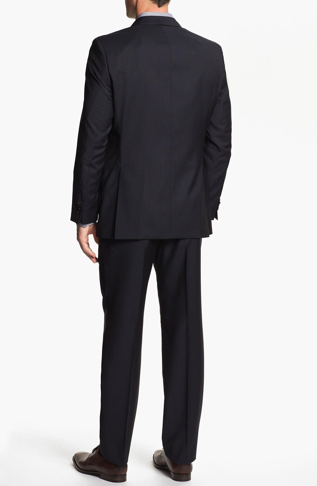 Alternate Image 3  - BOSS Black 'Pasolini/Movie' Stripe Suit