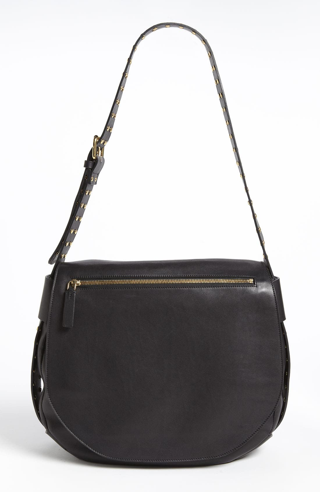 Main Image - Marni 'Large' Studded Crossbody Flap Bag