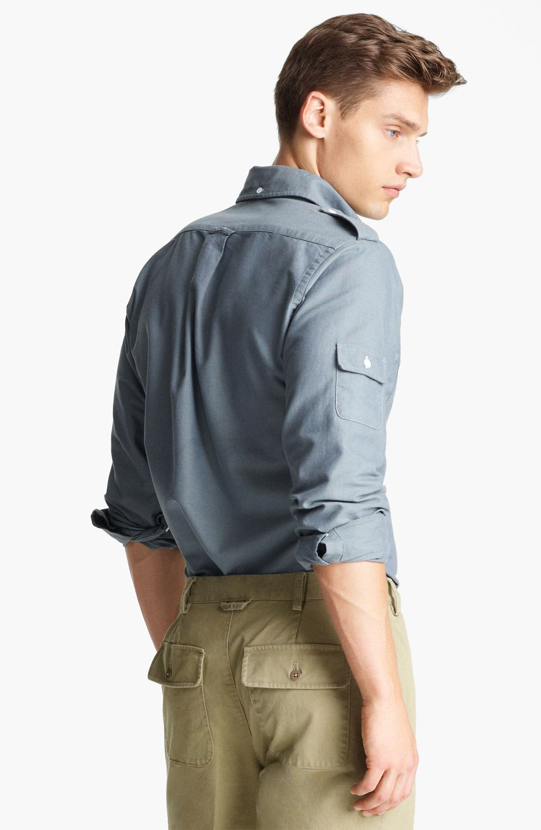 Alternate Image 2  - Gant by Michael Bastian Multi Pocket Woven Shirt