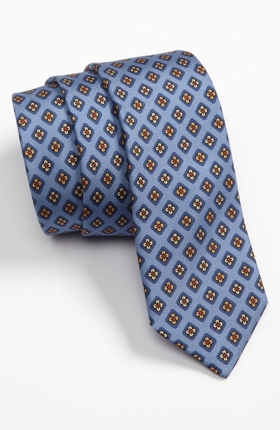 Alternate Image 1 Selected - David Hart Woven Silk Tie