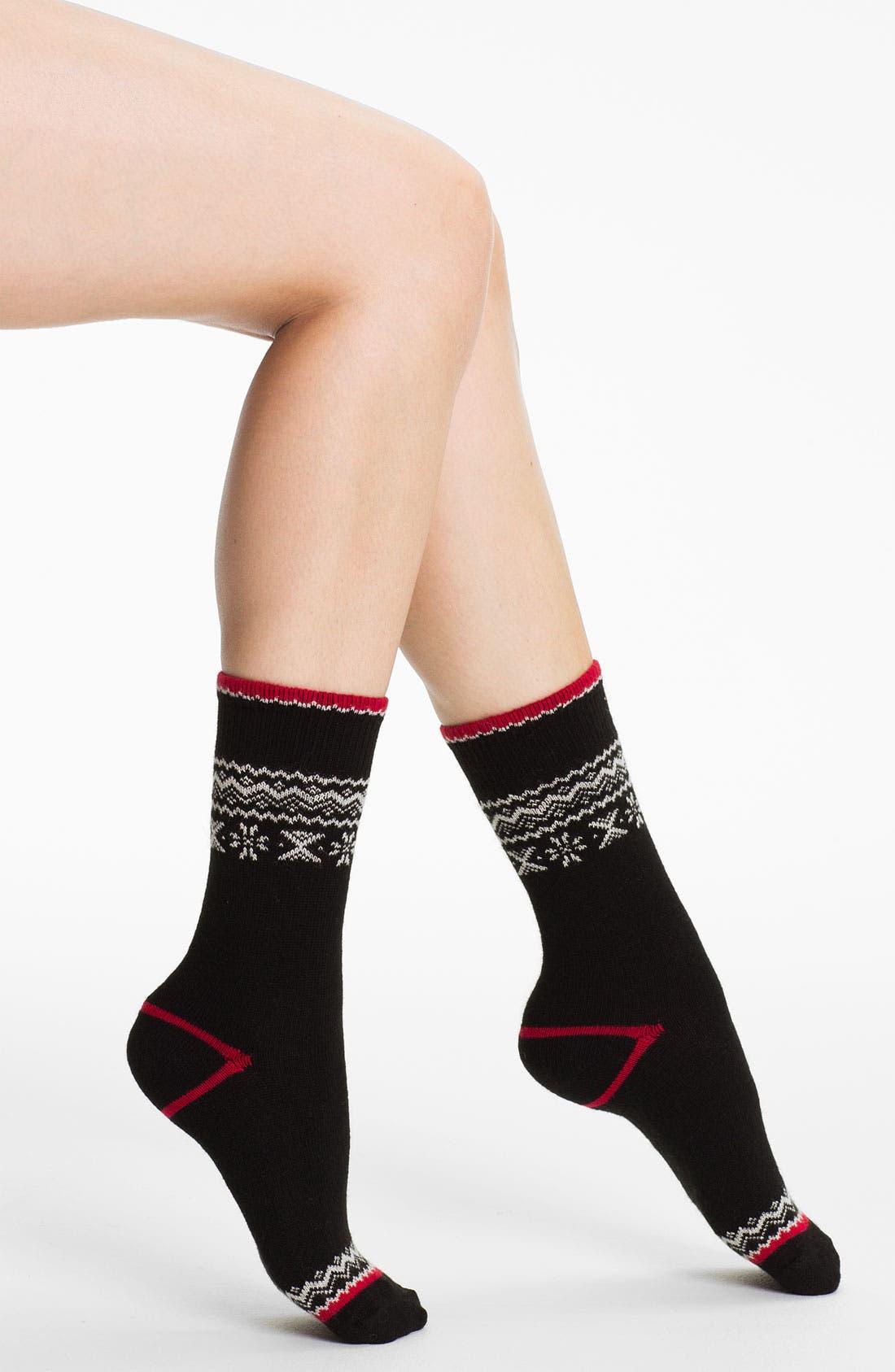 Alternate Image 1 Selected - Ralph Lauren Fair Isle Socks