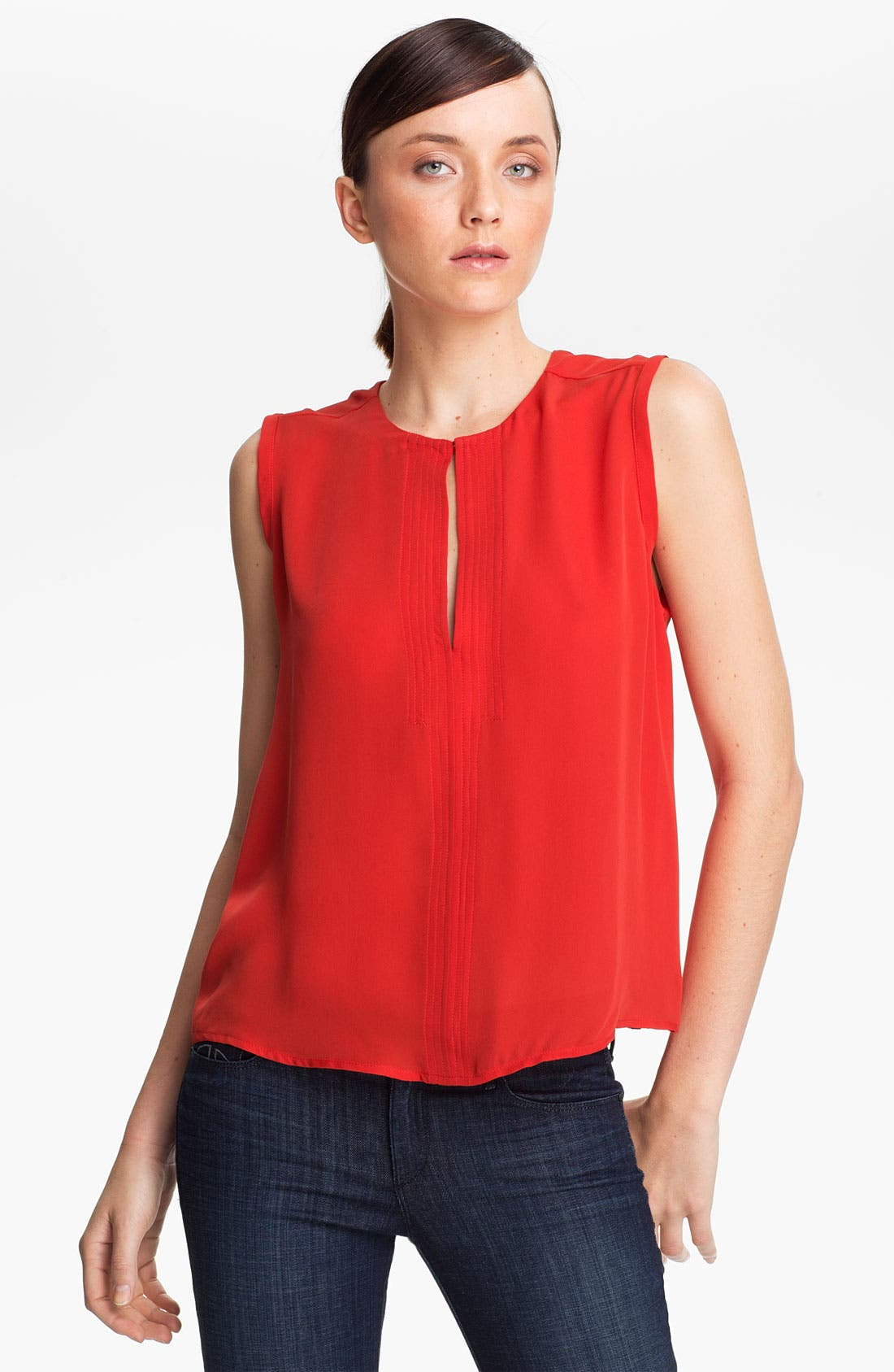 Alternate Image 1 Selected - A.L.C. 'Moore' Sleeveless Silk Top