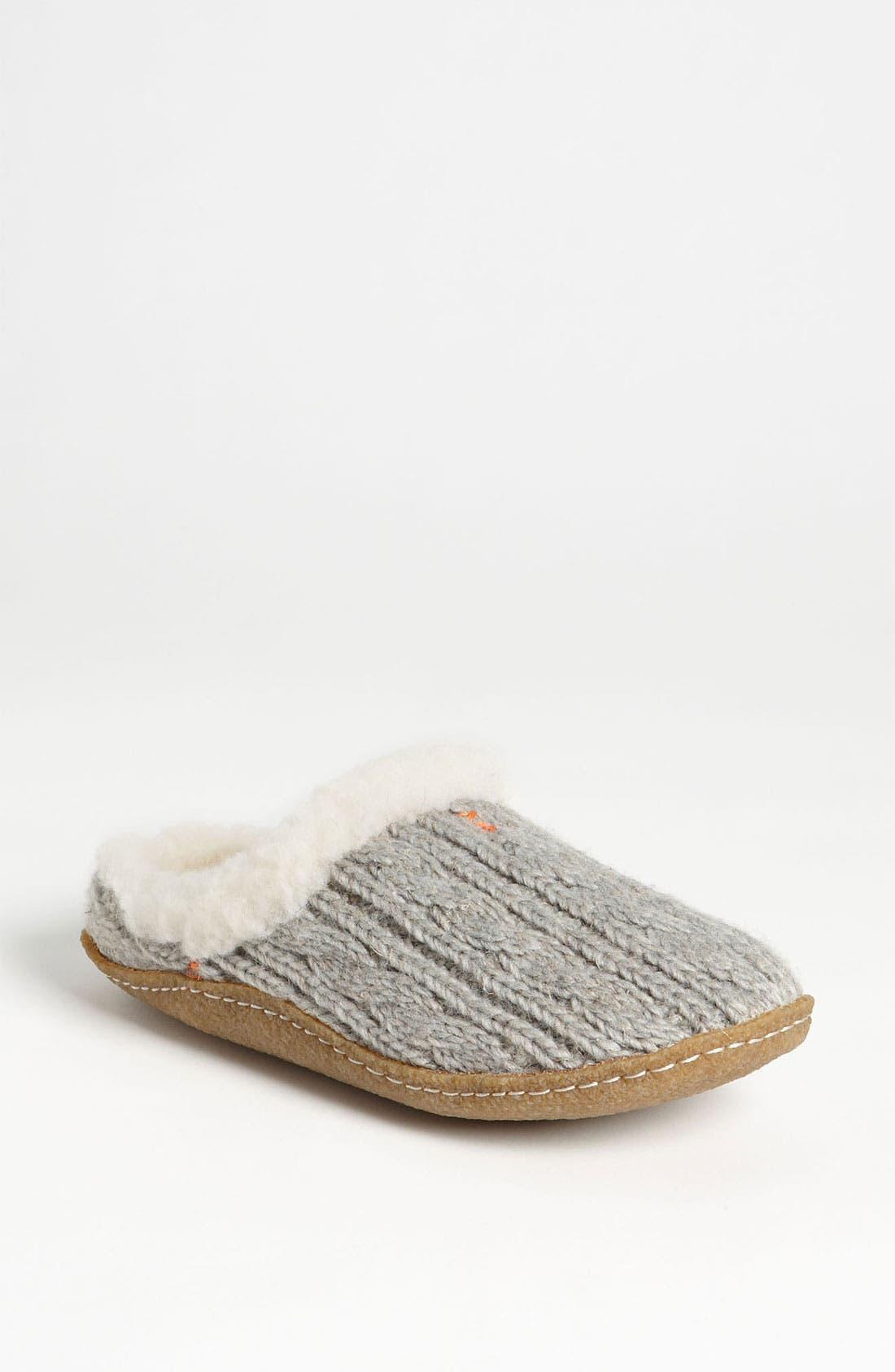 Alternate Image 1 Selected - SOREL 'Nakiska' Knit Slipper (Women)