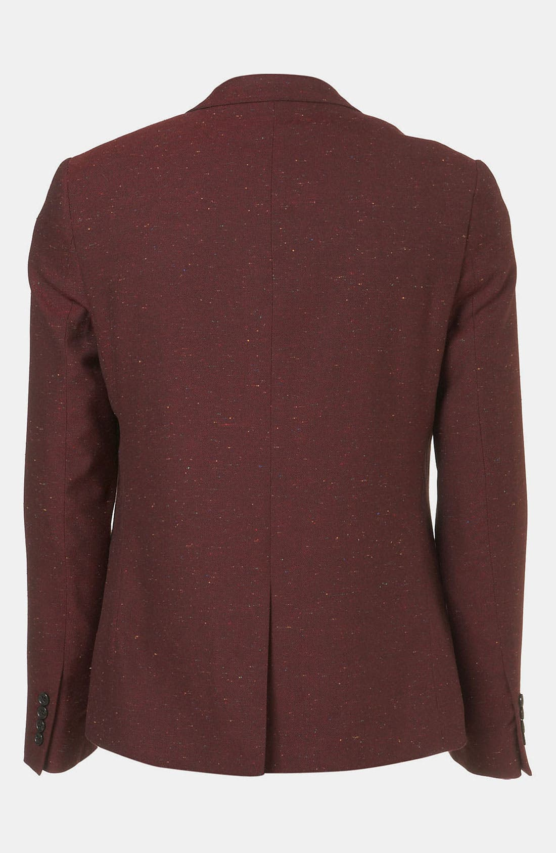 Alternate Image 2  - Topman 'Oxford' Skinny Fit Blazer