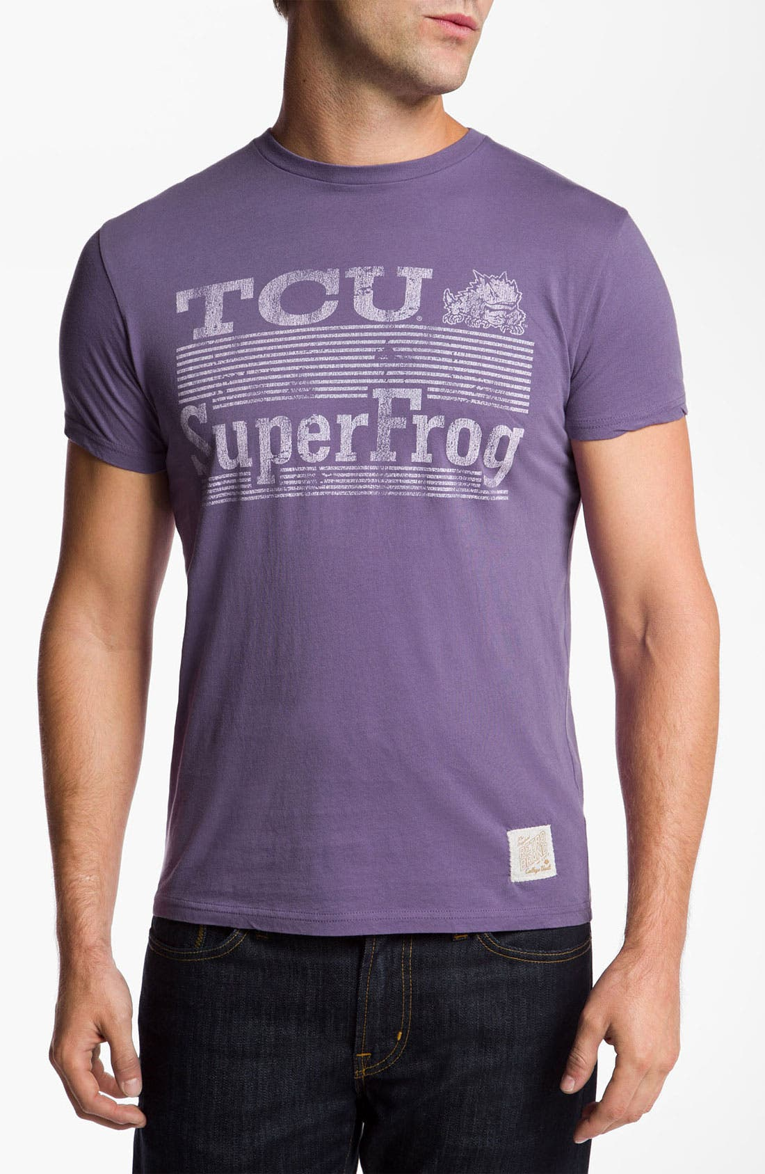 Alternate Image 1 Selected - The Original Retro Brand 'TCU Horned Frogs - Superfrog' T-Shirt