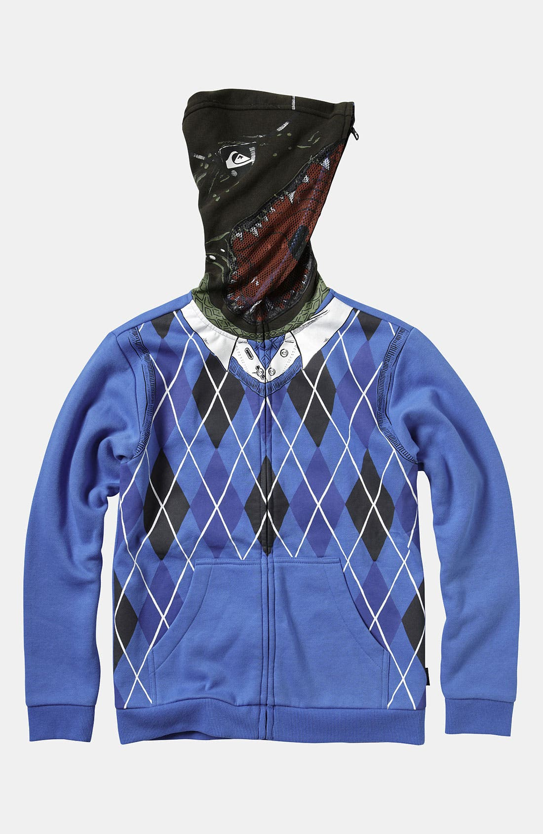 Alternate Image 2  - Quiksilver 'Irony' Mask Hoodie (Big Boys)