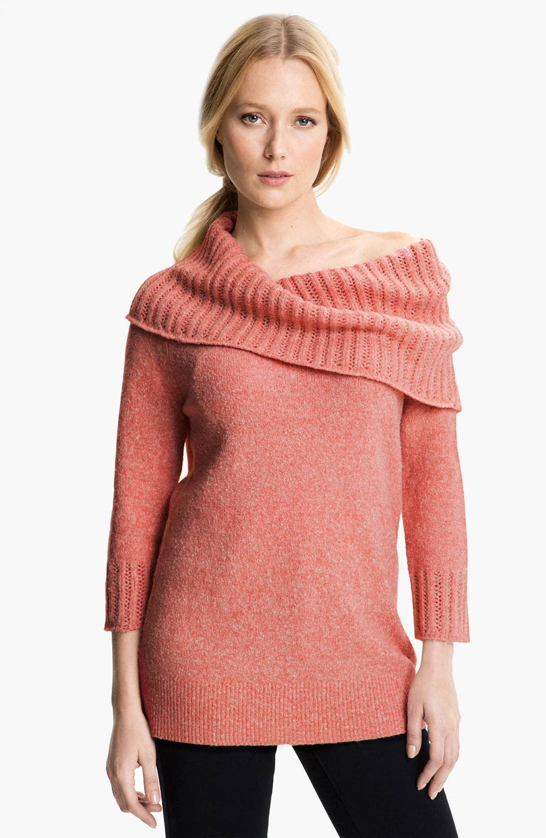 Alternate Image 1 Selected - Amber Sun Bouclé Sweater