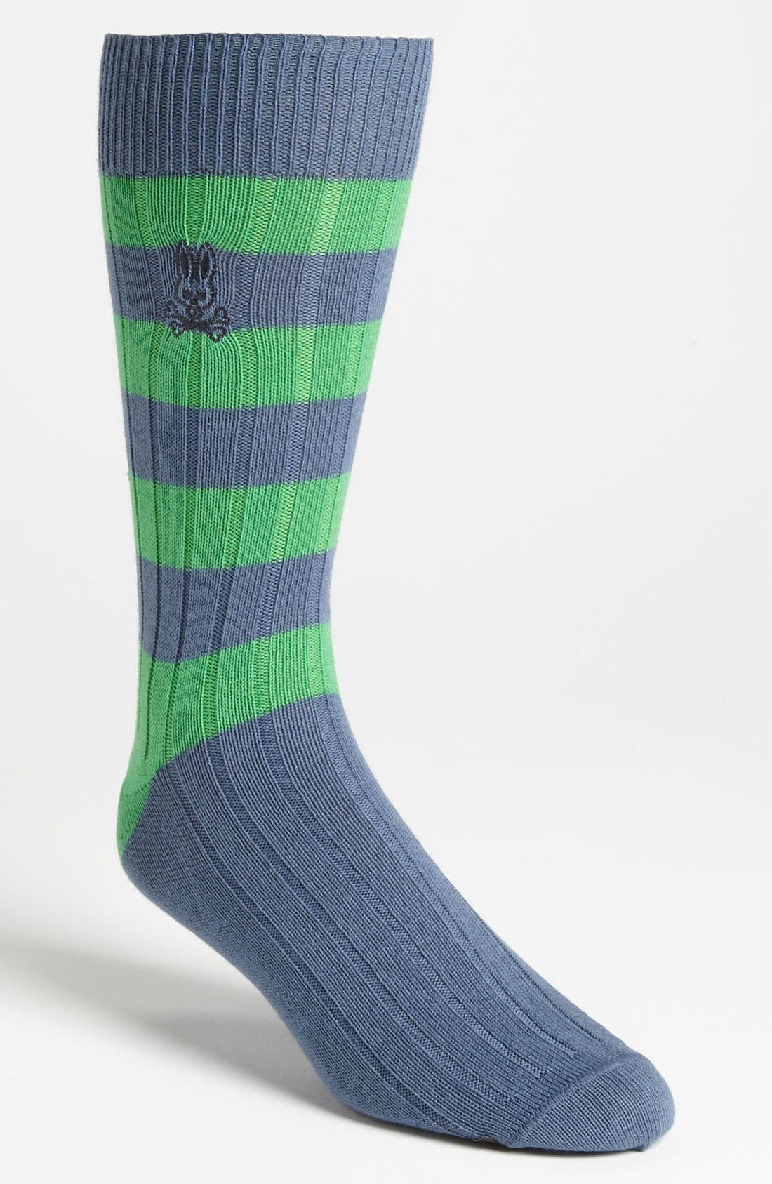 Alternate Image 1 Selected - Psycho Bunny Rugby Stripe Sock