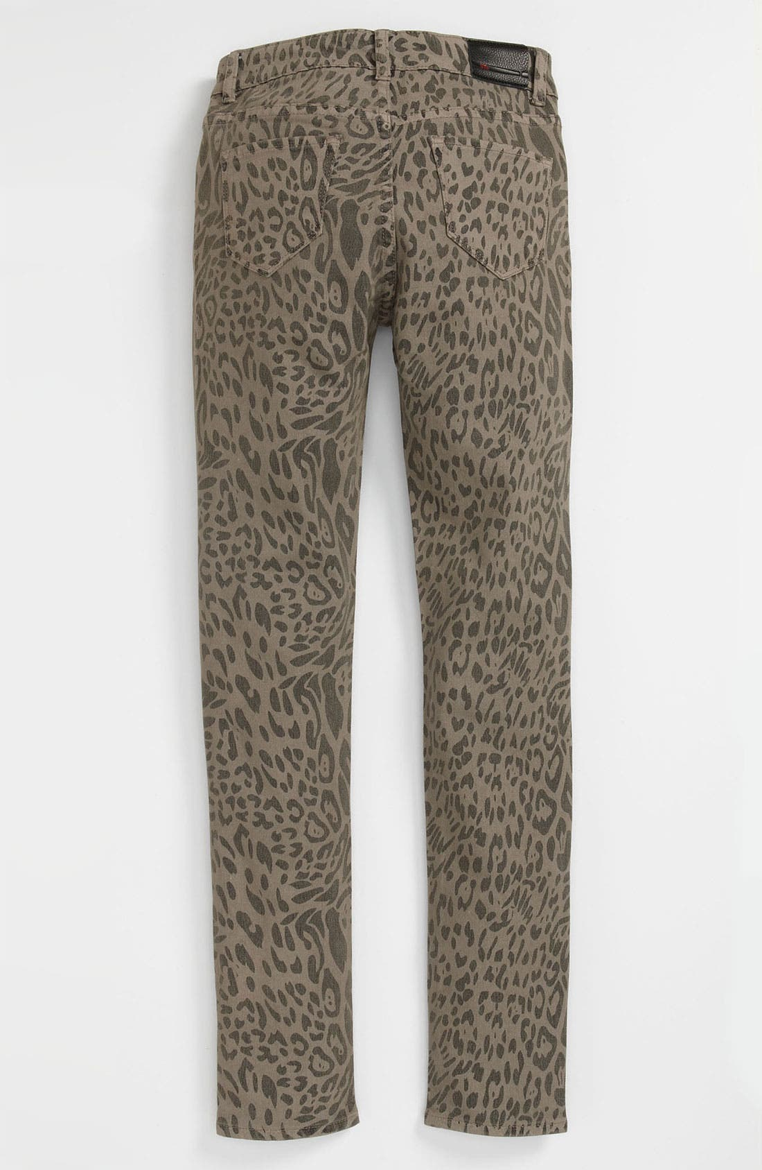 Main Image - !iT JEANS Printed Ultra Skinny Jeans (Big Girls)