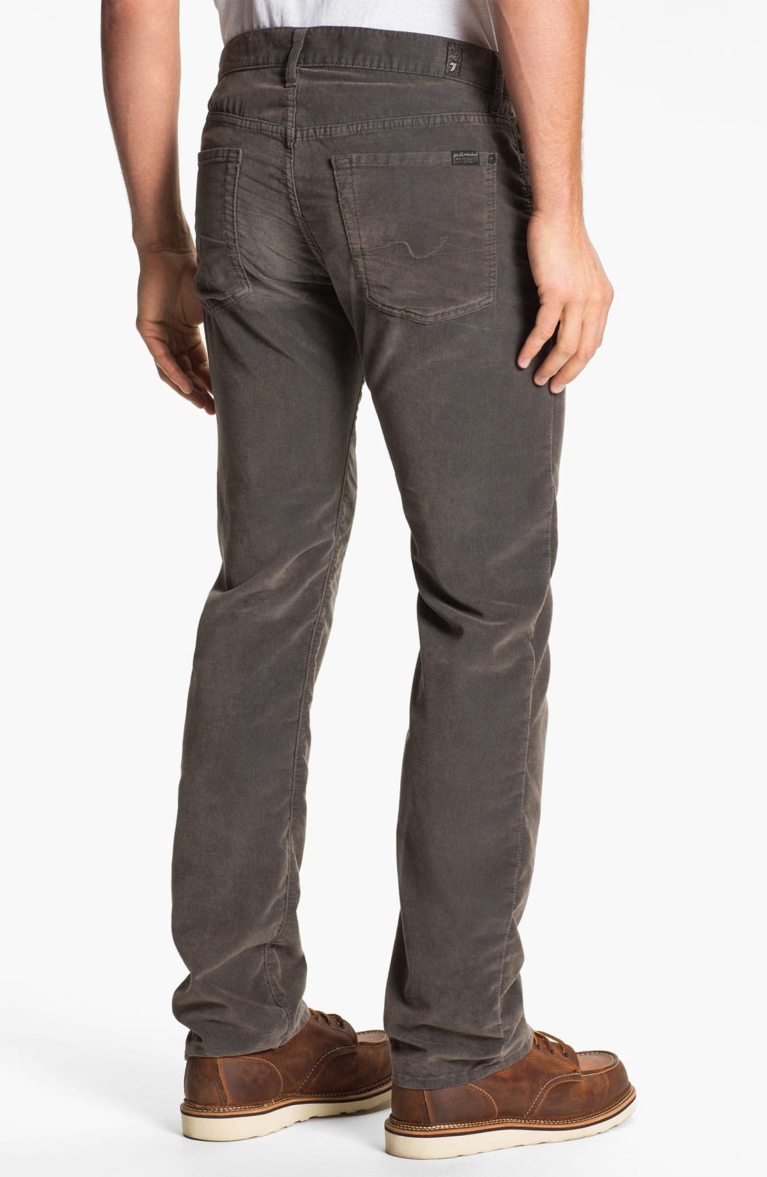 Alternate Image 1 Selected - 7 For All Mankind® 'Standard' Straight Leg Pants