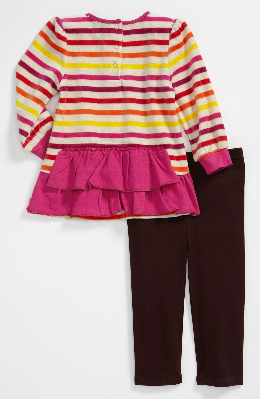 Alternate Image 2  - Juicy Couture Tunic & Leggings (Infant)