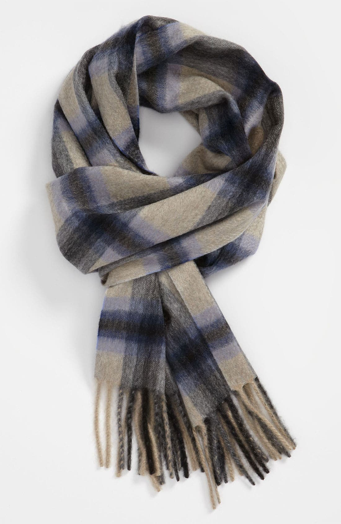 Alternate Image 1 Selected - Canali Plaid Scarf