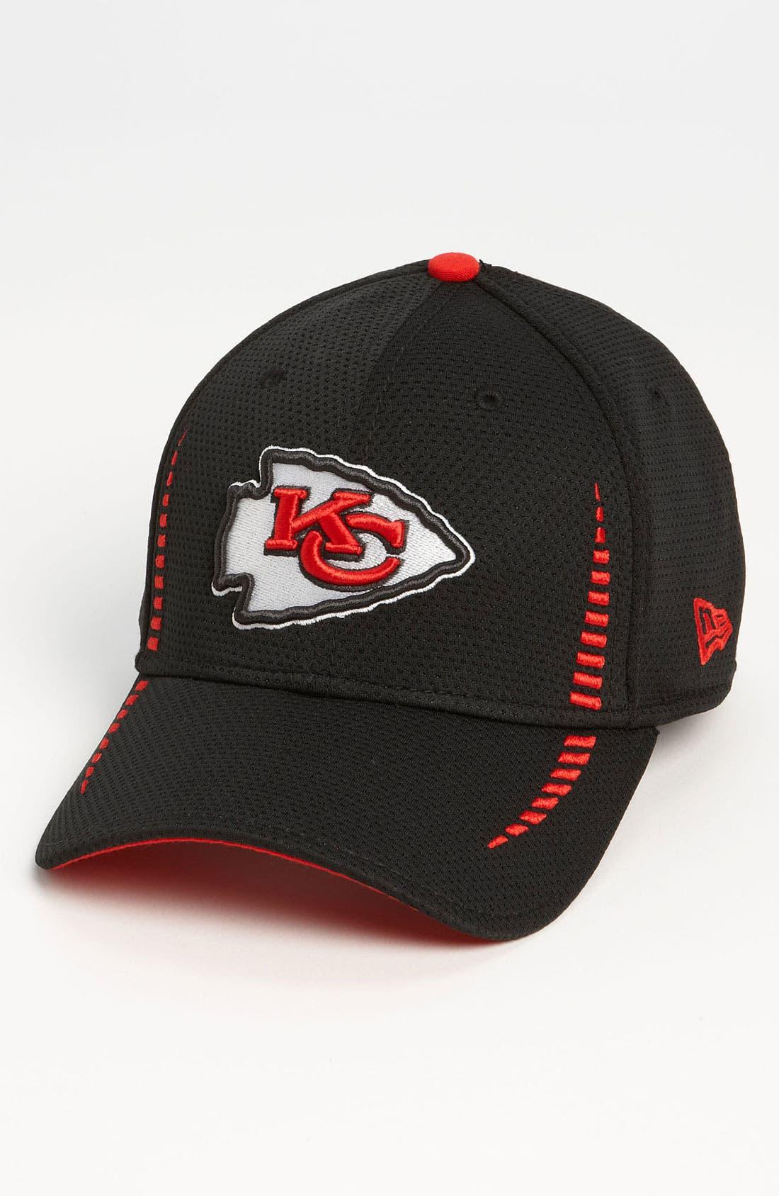 Alternate Image 1 Selected - New Era Cap 'Training Camp - Kansas City Chiefs' Baseball Cap