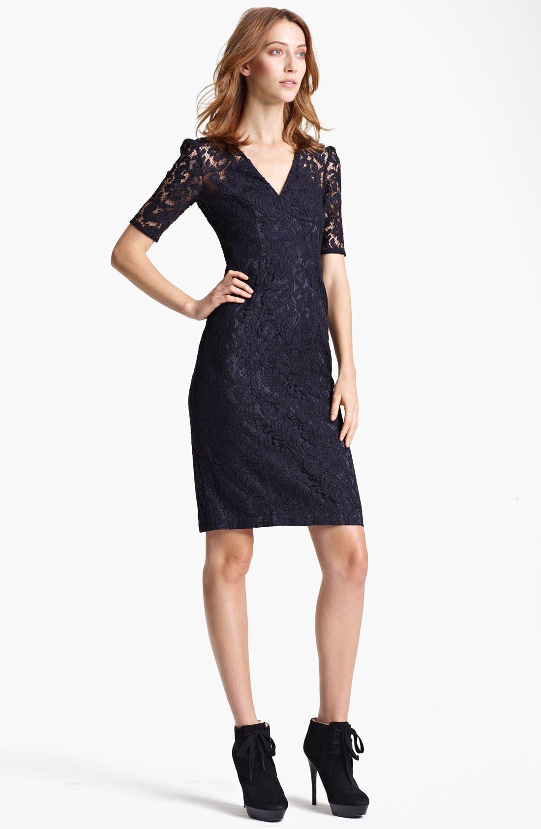 Main Image - Burberry London Lace Dress