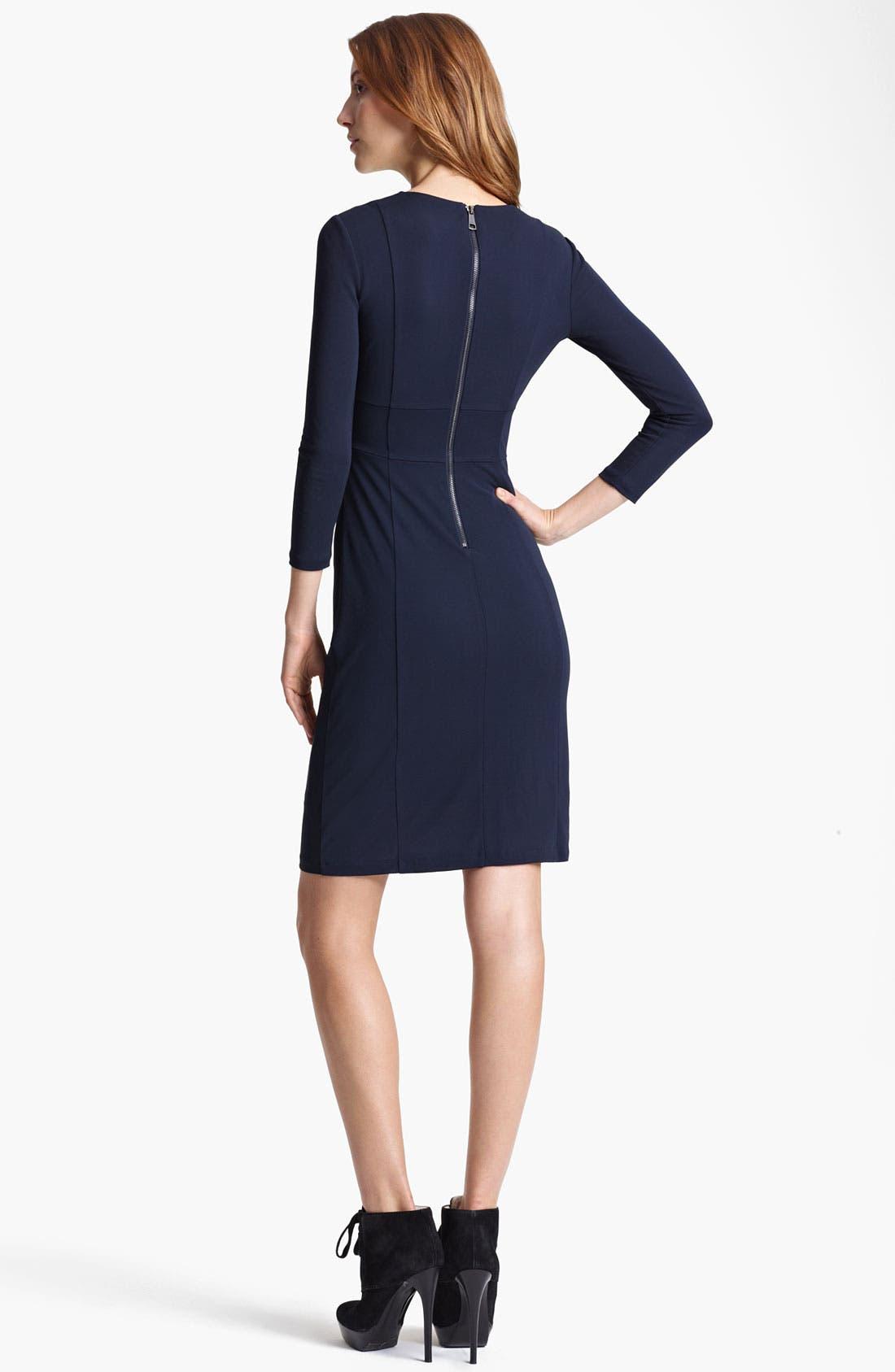 Alternate Image 2  - Burberry London Crepe Jersey Dress