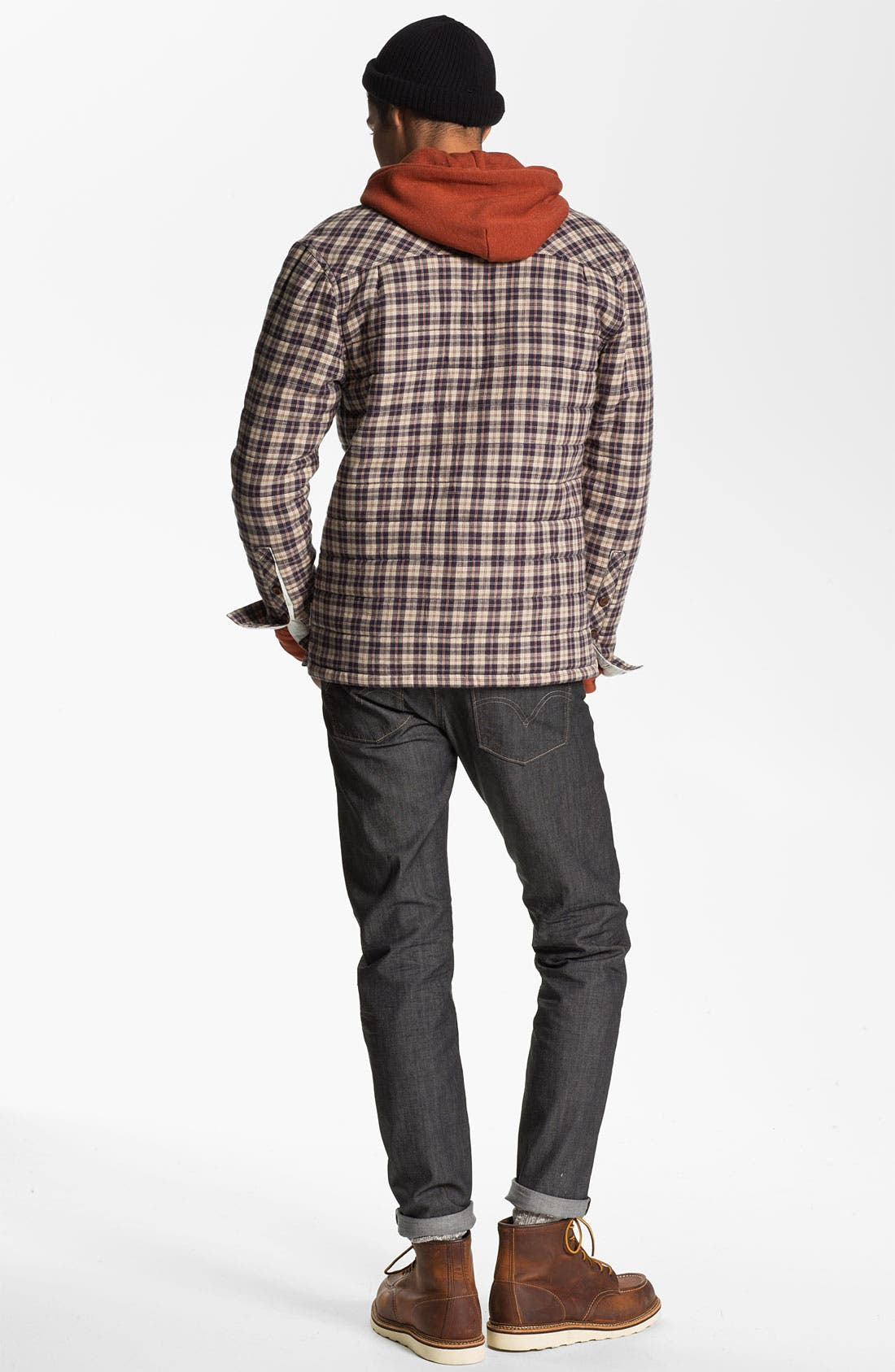 Alternate Image 5  - Levi's® '513™' Slim Fit Jeans (Moulded Slate)