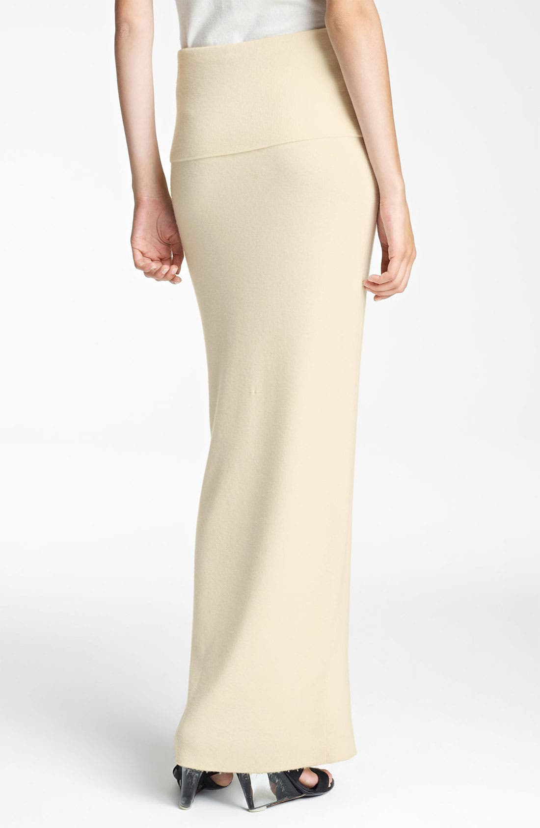 Alternate Image 2  - Donna Karan Collection 'First Layer' Cashmere Blend Maxi Skirt