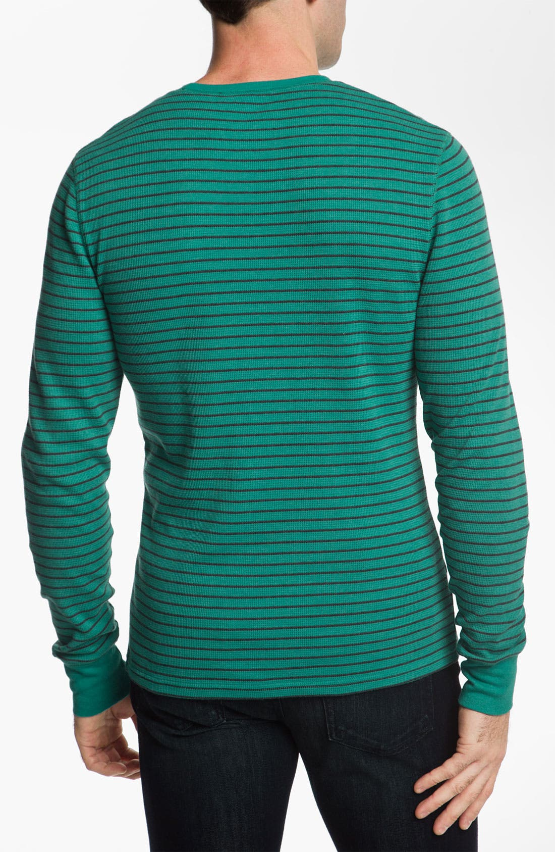 Alternate Image 2  - The Rail by Public Opinion Stripe Thermal Shirt